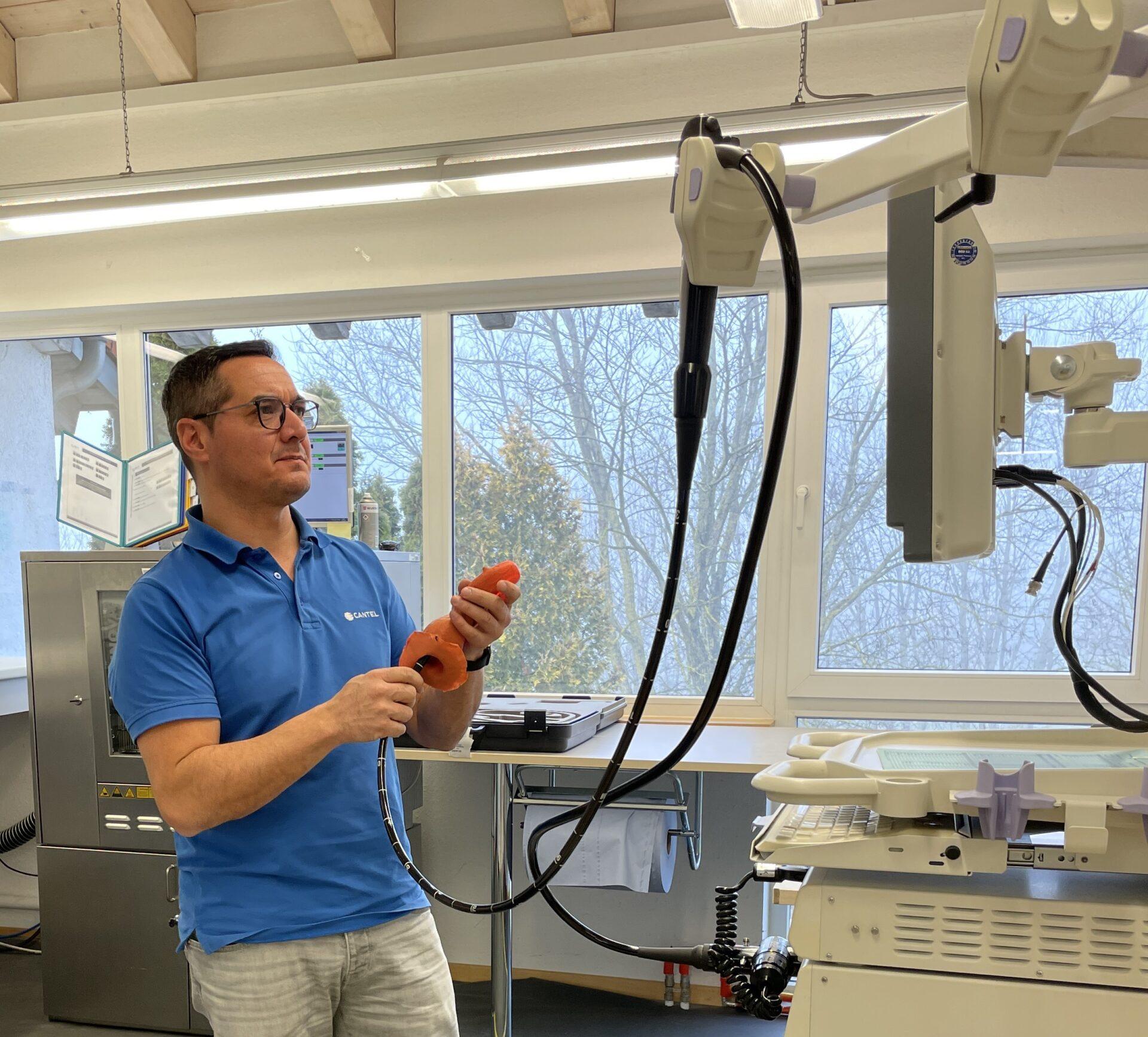 Hochwertiger Reparaturservice für Endoskope