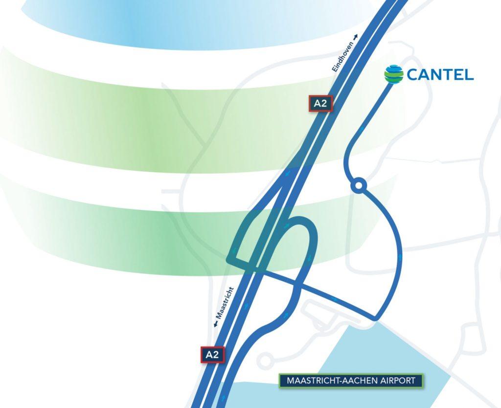Route beschrijving nieuwe kantoorlocatie