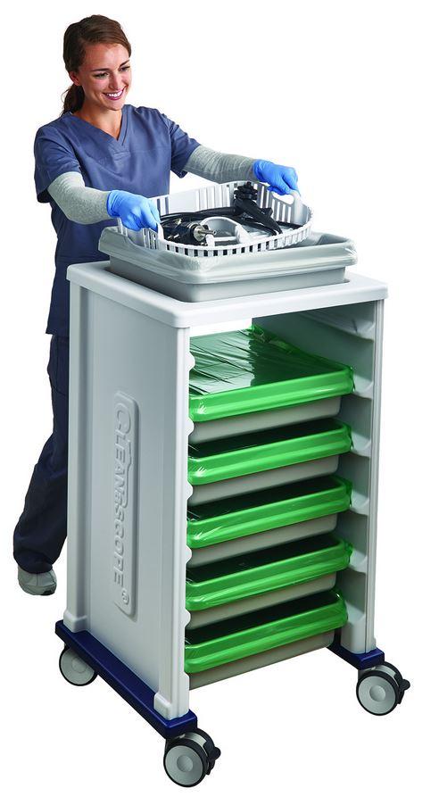 Cleanascope Transport & Kurzzeitlagerungssystem für Endoskope CANTEL