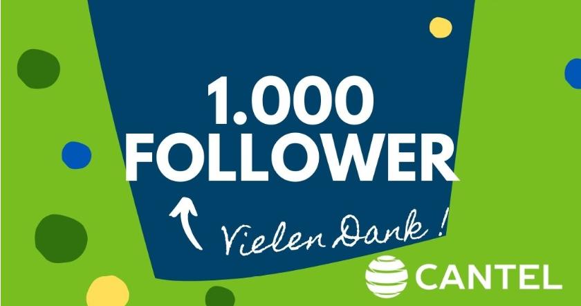 1.000 Follower auf LinkedIn - Wir sagen danke!