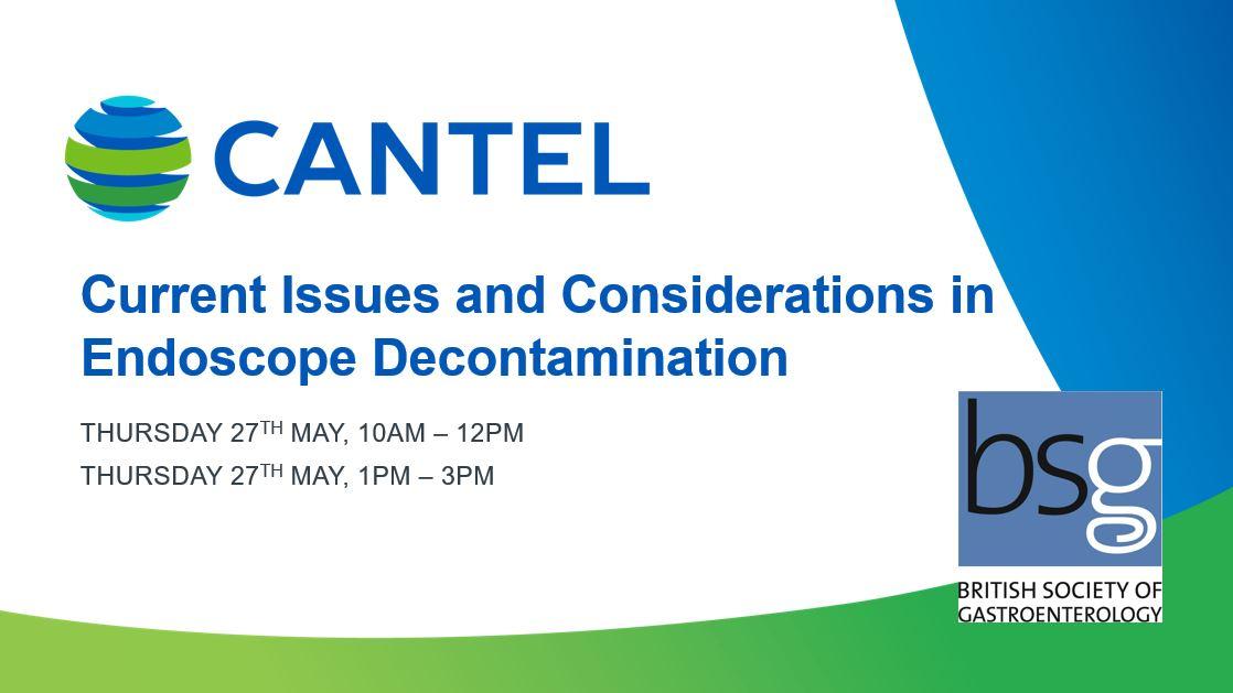 Cantel BSG Education Endoscope Decontamination
